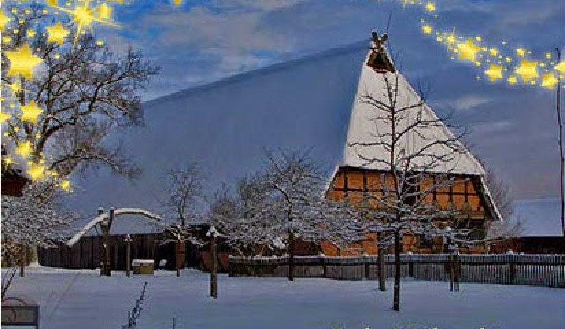 Wir wünschen allen Freunden den Museumsdorfes ein frohes und besinnliches Weihnachtsfest