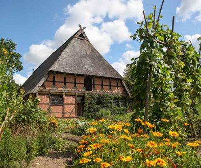 Museumsdorf Hösseringen, Brümmerhof Garten