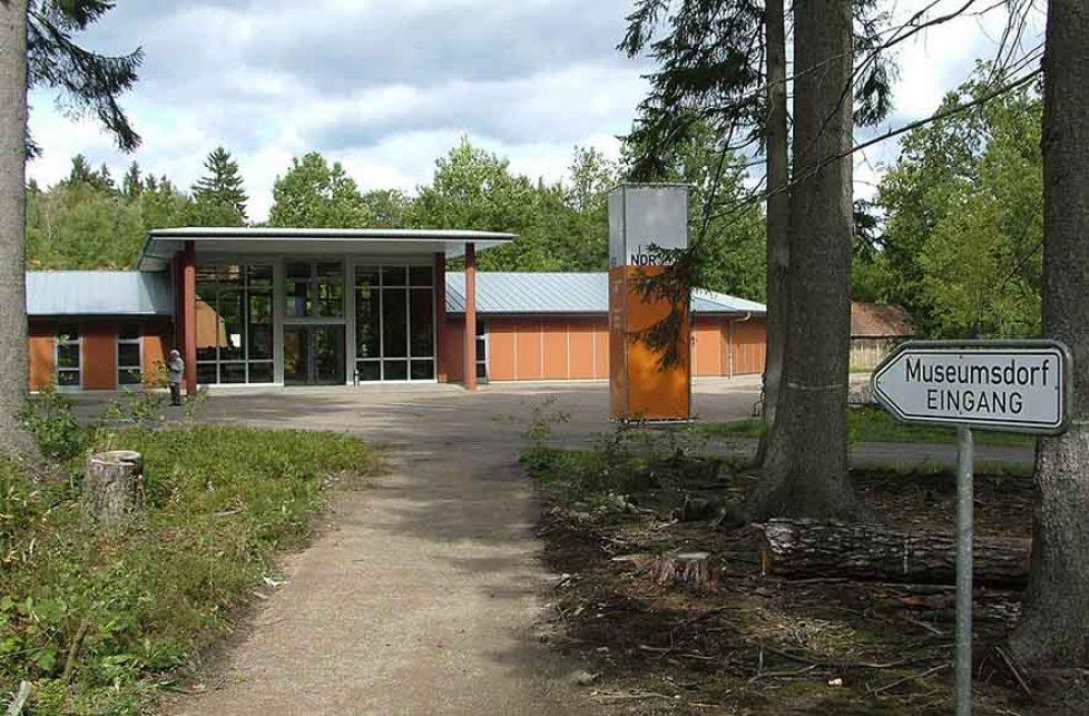 Eingangsgebäude Museumsdorf