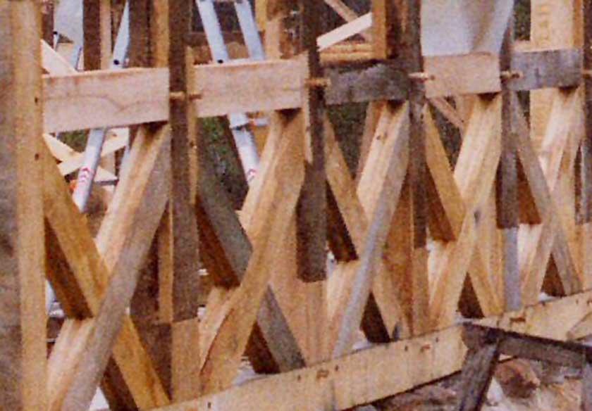Einführung in historische Holzverbindungen