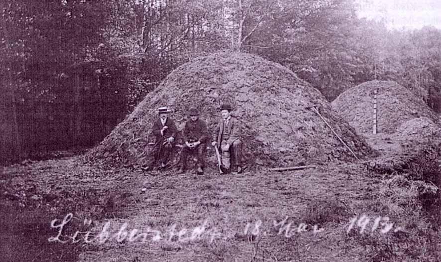 Köhlerei in der Lüneburger Heide