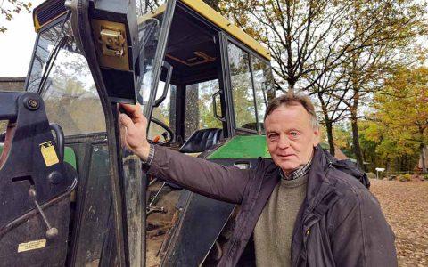 Karl-Heinz Manke, engagierter Ruhestand im Museumsdorf Hösserin