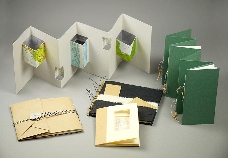 Einfache Buchformen gestalten