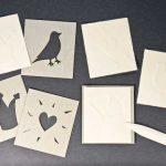 WORKSHOP: Prägungen auf Papier